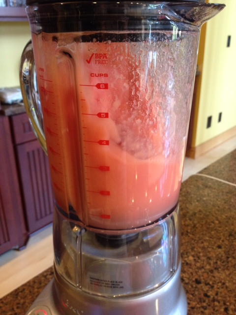 watermelon blending